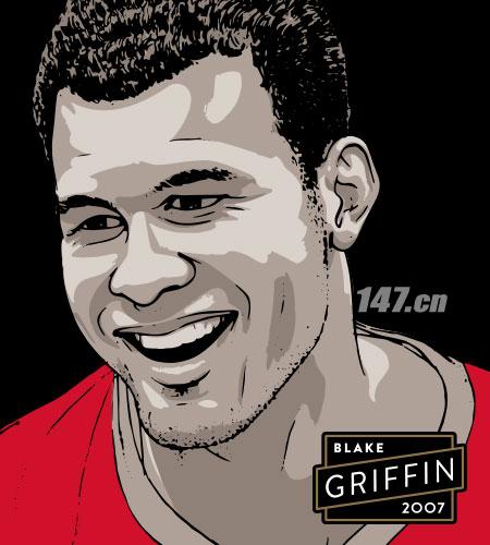 2007年Blake griffin