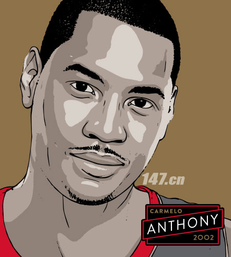 2002年Carmelo anthony