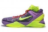 NIKE 488369-500 Zoom Kobe VII Supreme 科比7代紫色男子篮球鞋圣诞大战顶级限量版