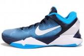 NIKE 488370-401 Zoom Kobe VII X 科比7代蓝色男子篮球鞋