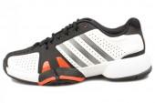 adidas G45562 Barricade Team 2 狼牙系列白色男子网球鞋