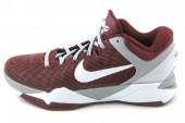 NIKE 488371-600 Zoom Kobe VII System 科比7代红色男子篮球鞋