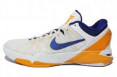 NIKE 488371-101 Zoom Kobe VII 科比7代白色男子篮球鞋