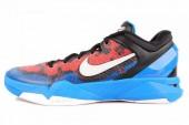 NIKE 488371-403 Zoom Kobe VII System 科比7代蓝色男子篮球鞋