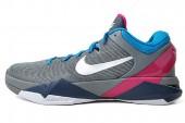 NIKE 488371-004 Zoom Kobe VII 科比7代灰色男子篮球鞋