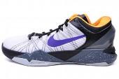 NIKE 488370-100 Zoom Kobe VII 科比7代白色男子篮球鞋