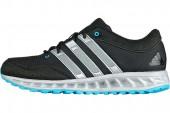 adidas G61336 Falcon Elite 2 M Highvis 黑色男子跑步鞋