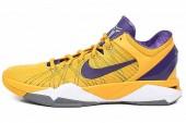 NIKE 488370-500 Zoom Kobe VII 科比7代紫黄鸳鸯色男子篮球鞋