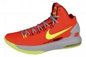 NIKE 554988-610 KD V 杜兰特5代红色男子篮球鞋