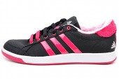 adidas Q22336 Oracle Stripes W 黑色女子网球鞋