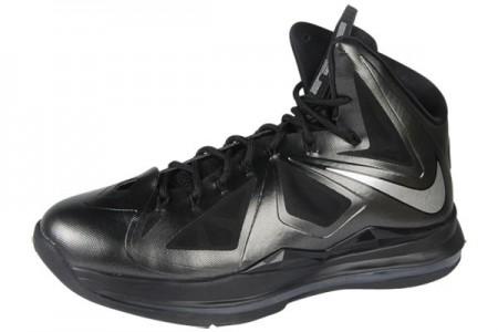 詹姆斯/NIKE 543645/002 LeBron X XDR 詹姆斯10代篮球鞋纯黑...