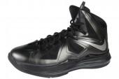NIKE 543645-002 LeBron X XDR 詹姆斯10代篮球鞋纯黑