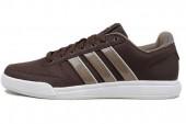 adidas Q21207 Bian III M 棕色男子休闲网球鞋