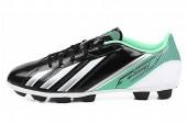 adidas G65438 F5 TRX HG F50系列黑色男子足球鞋