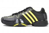 adidas G64767 adiPower Barricade 7.0 狼牙7代黑色男子网球鞋