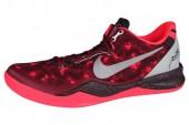 NIKE 555286-660 Kobe 8 System 科比红色男子篮球鞋