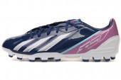 adidas G65340 F10 TRX AG F50系列蓝色男子足球鞋