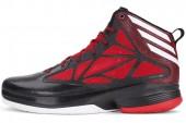 adidas G65877 Crazy Fast 黑色男子篮球鞋