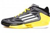 adidas G66080 adiZero Crazy Light 2 Low 黑色男子篮球鞋轻量版