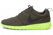 NIKE 511881-307 Roshe Run 绿色男子休闲鞋