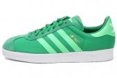 adidas Q23105 Gazelle II 三叶草绿色男子休闲板鞋