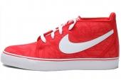 NIKE 555314-616 Toki Textile 红色男子休闲板鞋