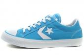 Converse 138178C STARPLAYER 蓝/白色低帮绑带中性滑板鞋