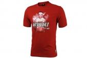 adidas X74723 FEARLESS 詹姆斯红色男子短袖T恤