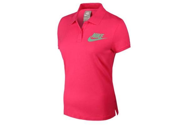 贝克汉姆清风广告_NIKE 558896-634 红色女子短袖polo衫_147.cn
