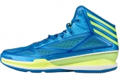 adidas G66521 adizero Crazy Light 3 罗斯蓝色男子篮球鞋轻量版
