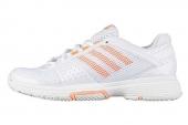 adidas Q35156 Barricade Team 3 W狼牙系列白色女子网球鞋