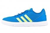 adidas Q33480 X-Hale 2 蓝色男子休闲篮球鞋