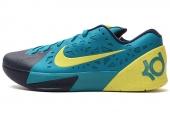 NIKE 599261-300 KD Trey 5 杜兰特蓝绿色男子低帮篮球鞋