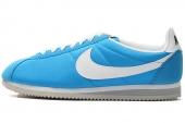 NIKE 532487-412 Classic Cortez Nylon 尼龙版蓝色男子阿甘鞋