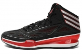 adidas G66514 adizero Crazy Light 3 黑红配色男子篮球鞋