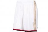 adidas Z27141 ACM H/A SHORT 白色男子AC米兰主场比赛短裤