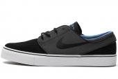 NIKE SB 333824-044 Zoom Stefan Janoski 黑色男子休闲滑板鞋