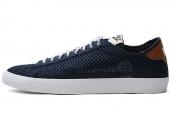 NIKE 579629-419 Tennis Classic AC Mesh 蓝黑色男子复刻版休闲板鞋
