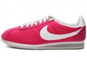 NIKE 532487-611 Classic Cortez Nylon 尼龙板紫红色男子阿甘鞋