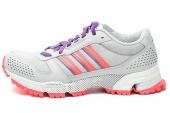 adidas G96900 Marathon TR 10 W 灰白色女子跑步鞋