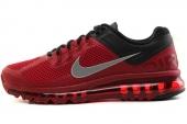 NIKE 554886-602 Air Max+ 2013 深红色男子跑步鞋