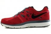 NIKE 599513-600 Dual Fusion Lite 深红色男子跑步鞋
