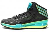 adidas G66513 adiZero Crazy Light 3 黑色男子篮球鞋