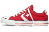 Converse 140846 Star Player 复古运动红色中性帆布鞋