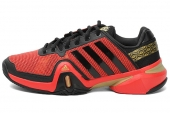adidas G96903 Adipower Barricade 8.0 狼牙8代红色男子网球鞋