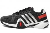 adidas Q21233 Adipower Barricade 8.0 狼牙8代黑色男子网球鞋