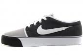 NIKE 555270-011 Toki Low Lthr 煤黑色男子休闲板鞋