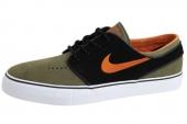 NIKE SB 333824-280 Zoom Stefan Janoski 橄榄绿色男子休闲板鞋