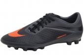 NIKE 599848-080 Hypervenom Phelon AG 黑色男子足球鞋