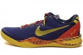 "NIKE 555035-402 Kobe 8 System ""Deep Royal Blue"" 科比8代皇家蓝"